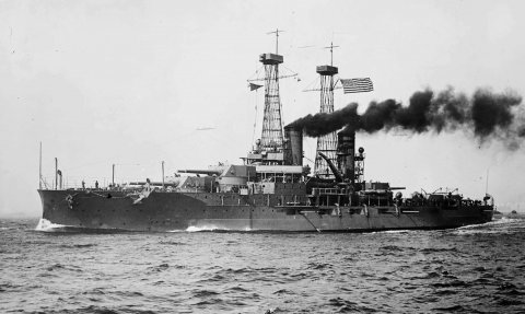 USS North Dakota w 1915 roku