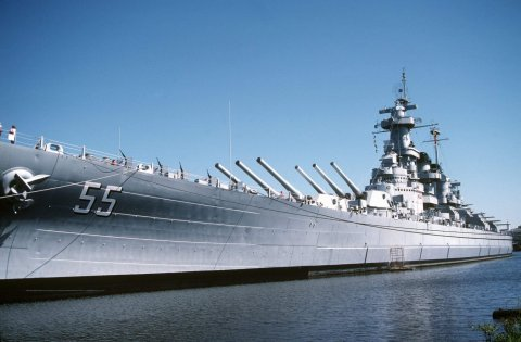 USS North Carolina 2013